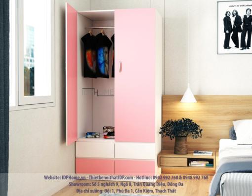 Tủ quần áo nhỏ gọn