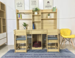 Cách đặt bàn ghế học sinh tại nhà đúng cách