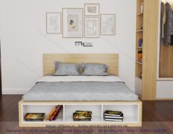 Giường đôi đẹp GD6805