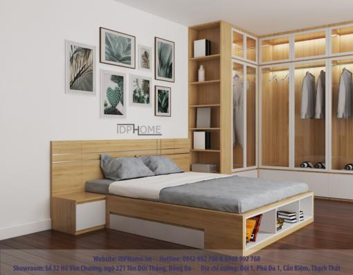 Mẫu giường ngủ đẹp GD6810
