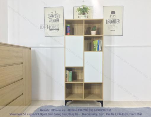 Mẫu tủ sách phòng khách TS6801