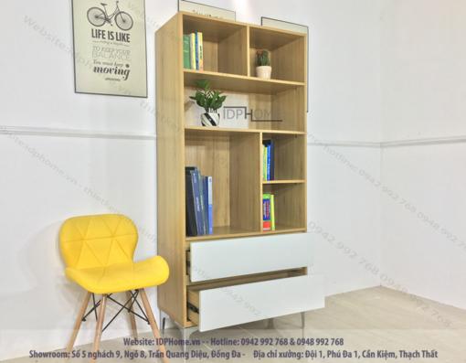 Tủ giá sách đẹp TS6801