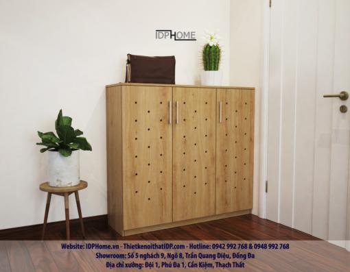 mẫu tủ giầy TG6801