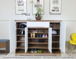 tủ giày gỗ giá rẻ