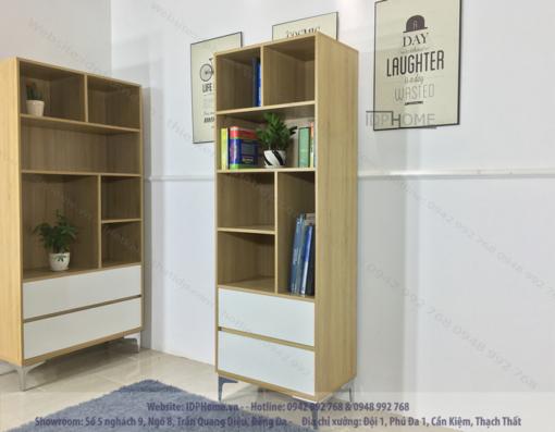 Tủ sách đẹp TS6804