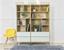 Tủ sách đẹp TS6805