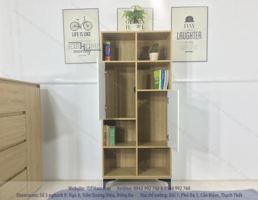 Tủ sách đẹp TS6801