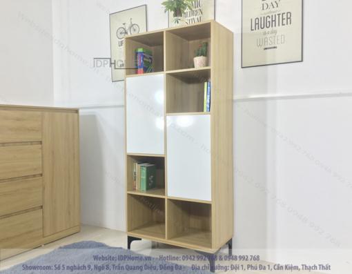 Tủ sách phòng khách TS6801