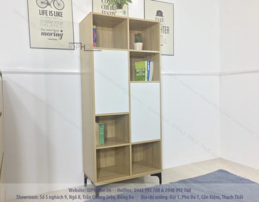 Tủ sách phòng khách đẹp TS6801