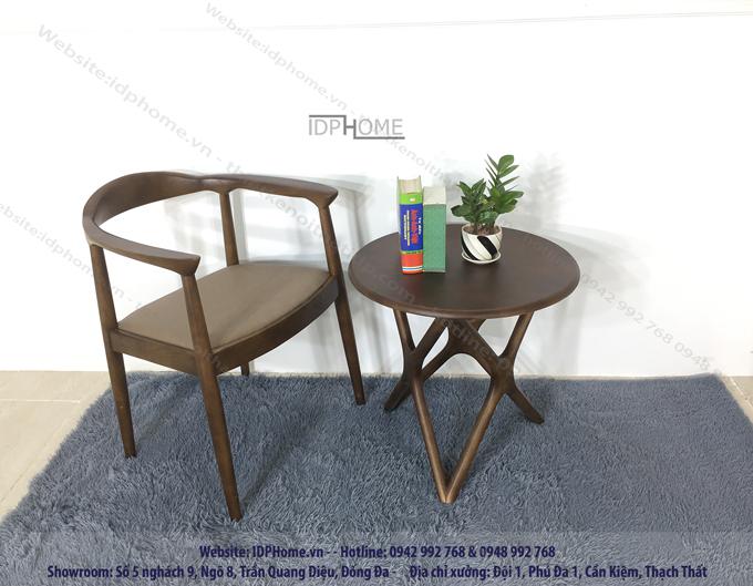 Mẫu ghế ăn gỗ tự nhiên đẹp