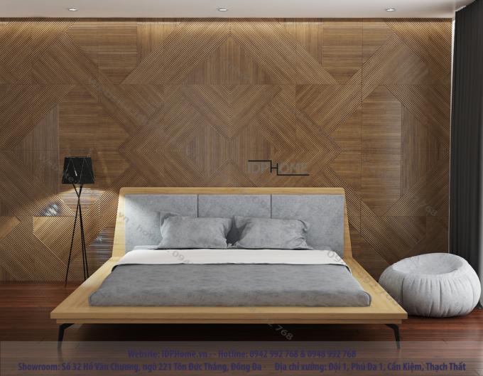 Mẫu giường ngủ sang trọng GD6812