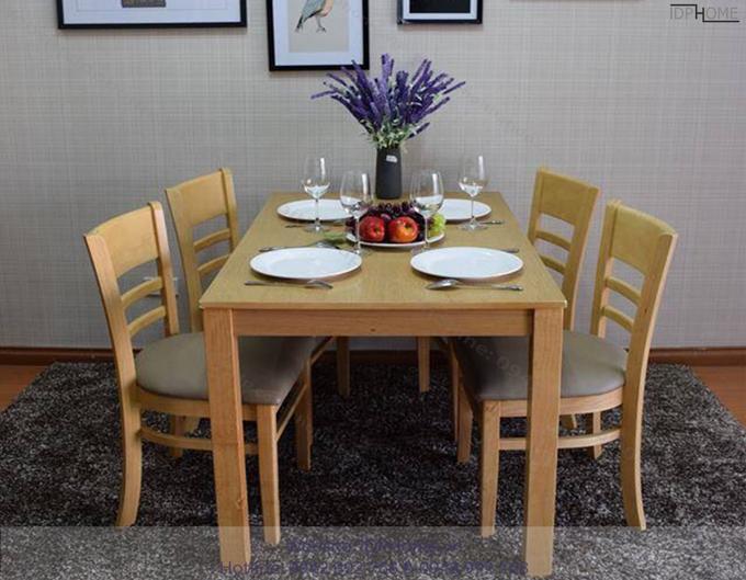 Kinh nghiệm chọn bàn ăn phù hợp với nhà bếp