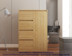 mẫu tủ ngăn kéo nhỏ gọn