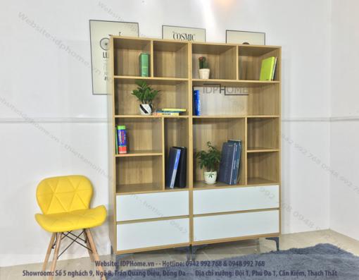 Mẫu tủ sách đẹp TS6805