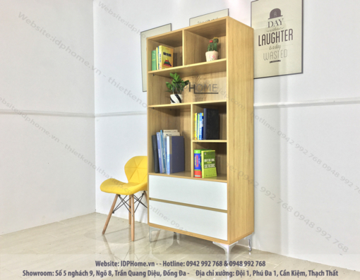 Tủ sách đẹp TS6803