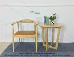 Mẫu ghế ăn gỗ tự nhiên