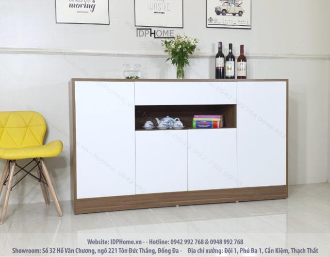 Tủ đồ đa năng đẹp cho phòng khách hiện đại