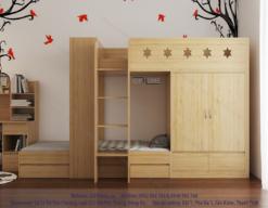 mẫu giường tầng đa năng