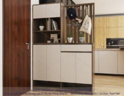 tủ giày đa năng đẹp cho nội thất chung cư