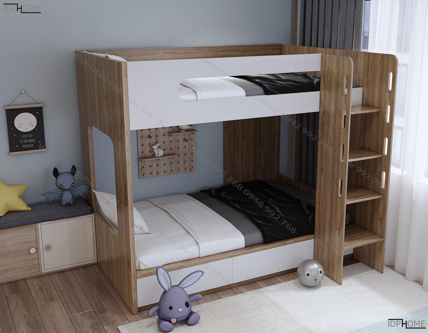 Giường 2 tầng đẹp GT6811