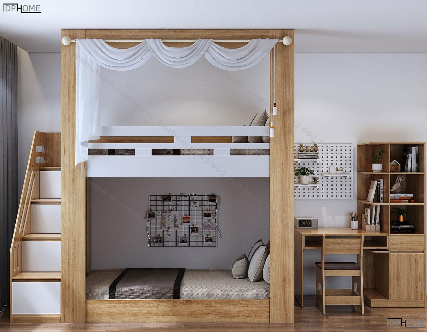 Giường tầng đa năng GT6806