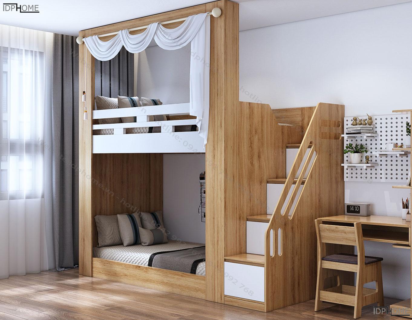 Giường tầng đa năng giá rẻ GT6806