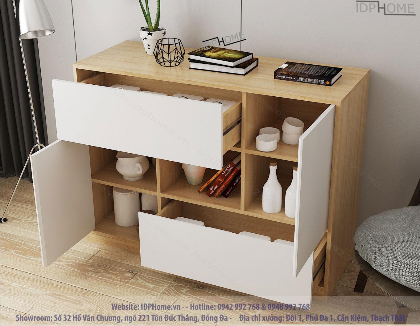 Mẫu tủ trang trí đẹp TD6808
