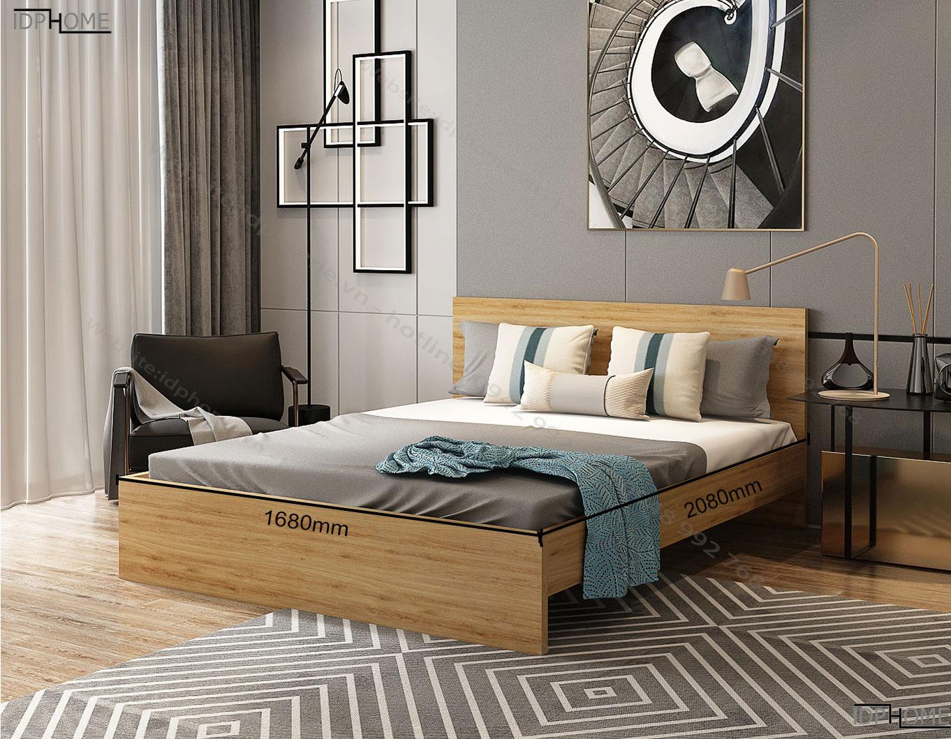 kích thước Giường ngủ GD6809