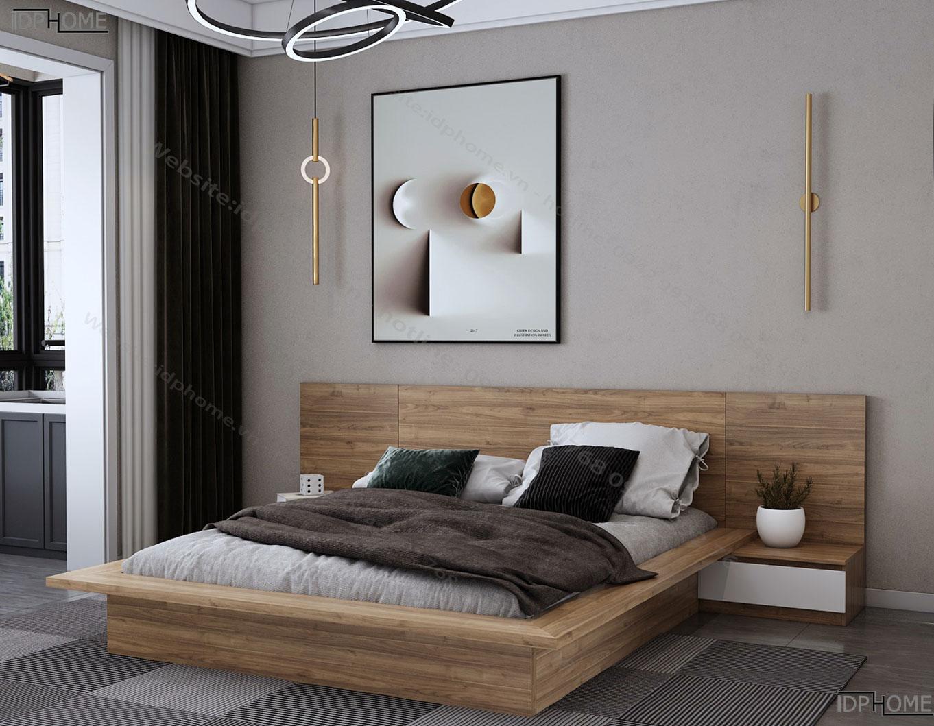 Giường ngủ đẹp hiện đại GD6808