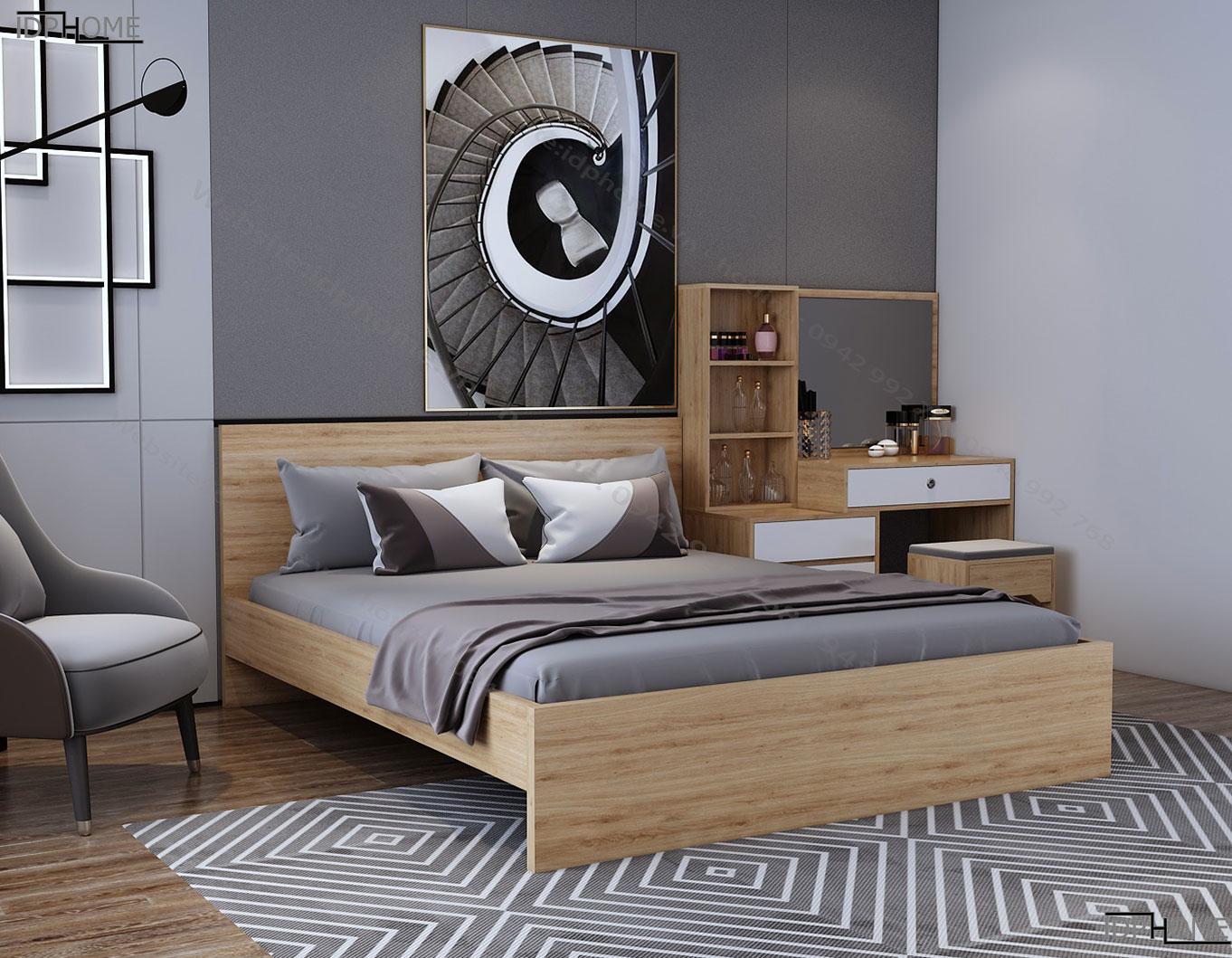 Giường ngủ giá rẻ GD6809