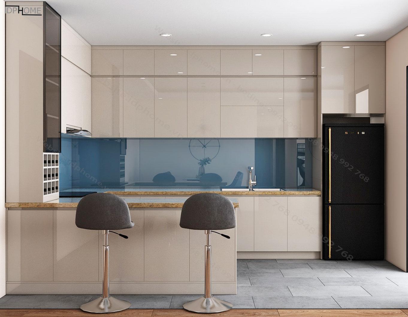 Mẫu nội thất phòng khách chung cư PK6801