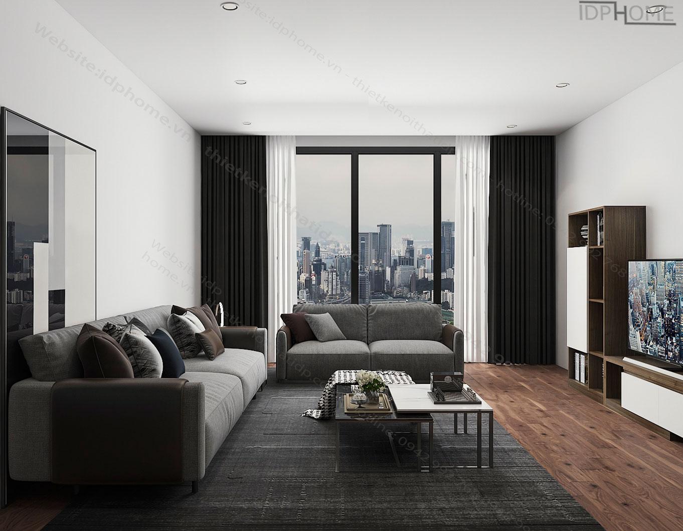 Thiết kế nội thất FLC - Khai thác ánh sáng tự nhiên.
