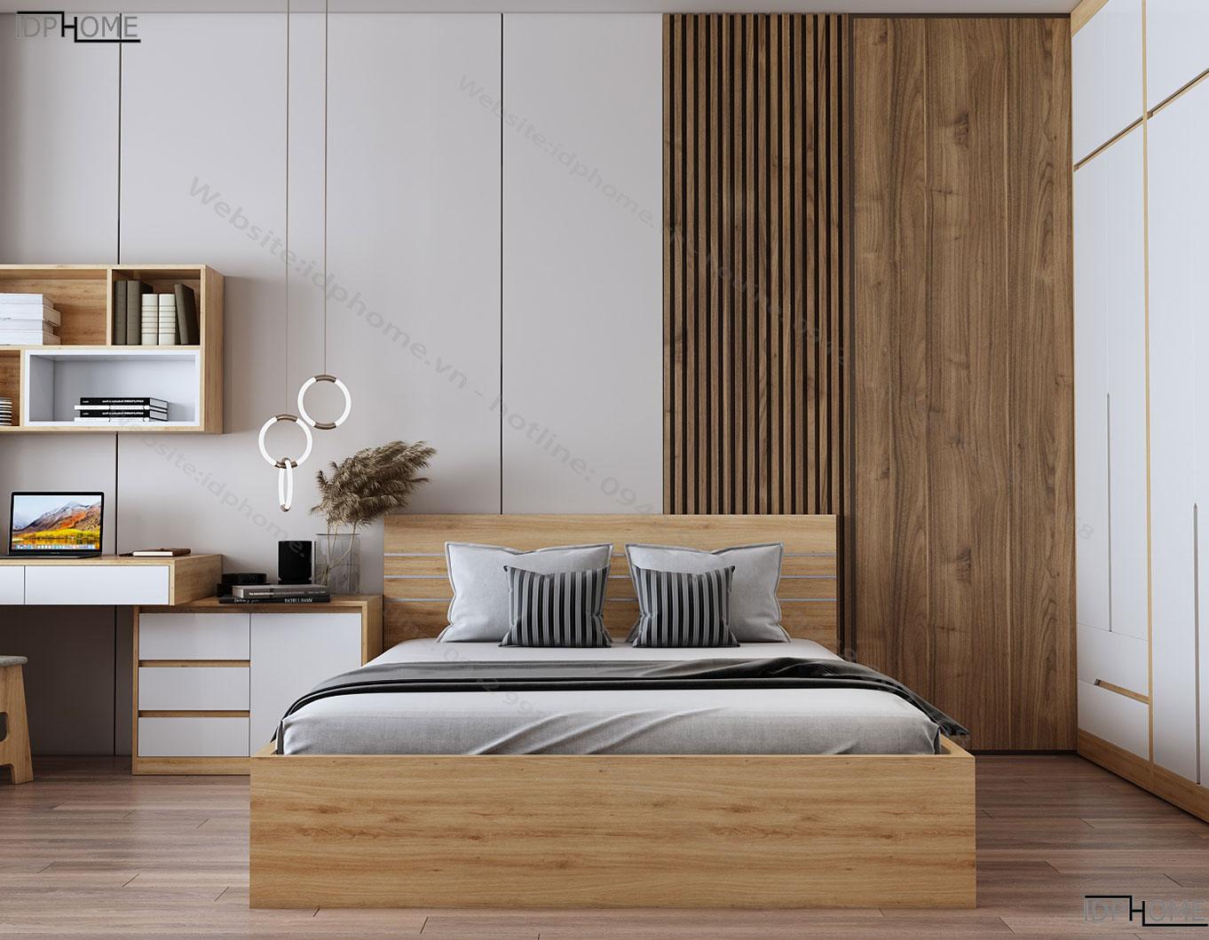 Giường ngủ đẹp hiện đại GD6801