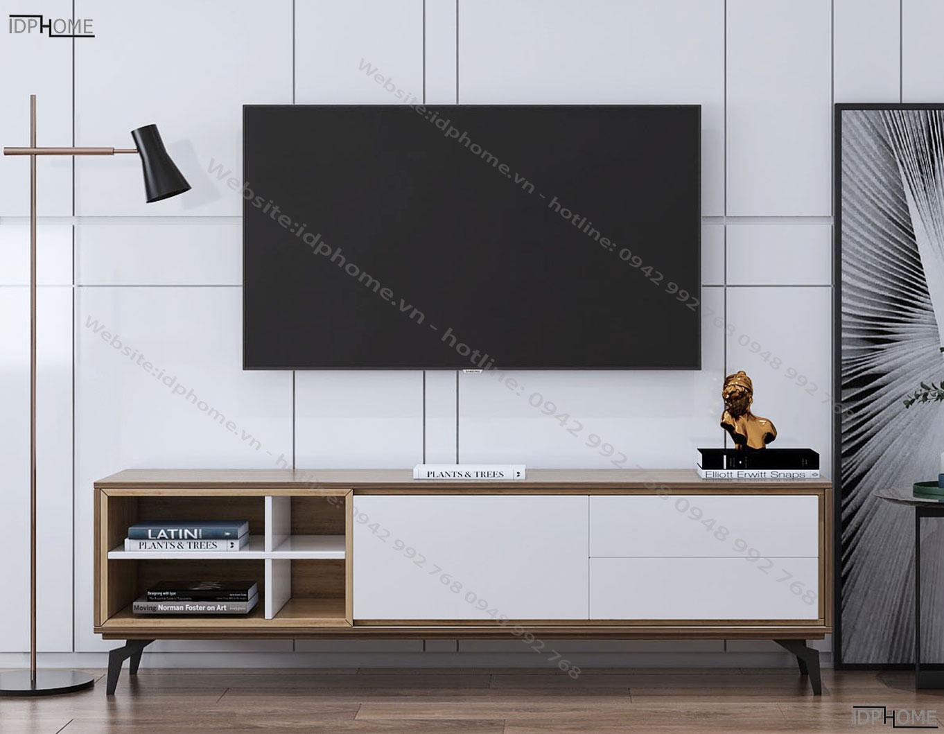 Mẫu kệ tivi đẹp thiết kế độc đáo KT6805