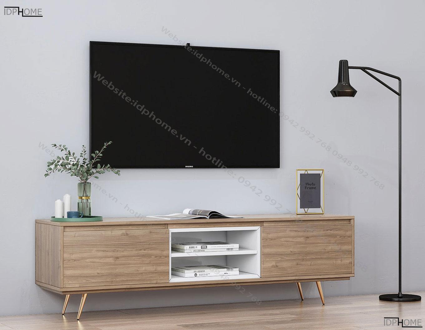 Mẫu kệ tivi đơn giản hiện đại KT6807