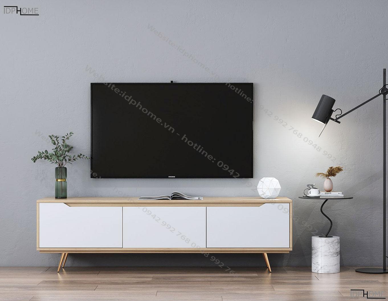 Mẫu kệ tivi hiện đại cho phòng khách KT6808