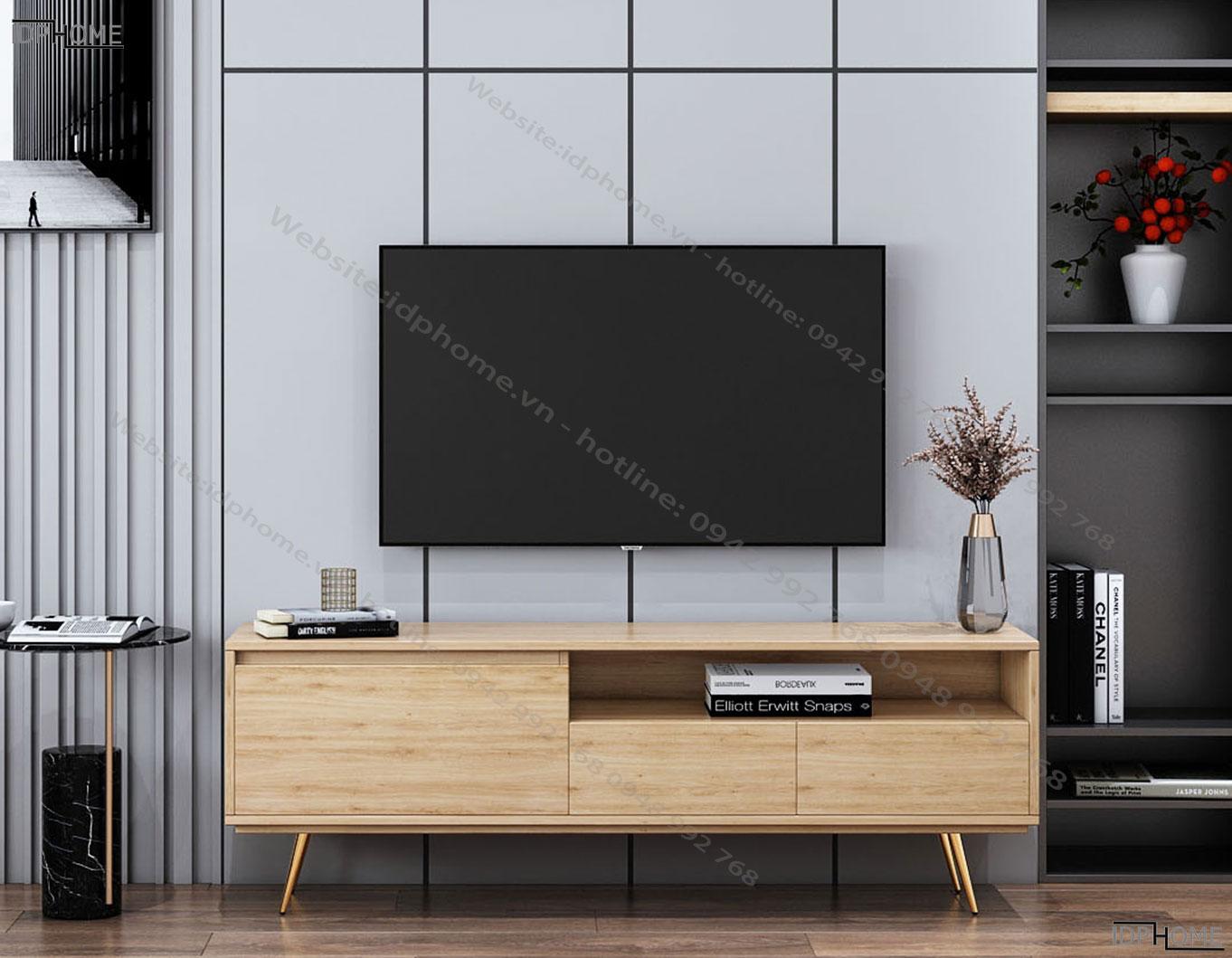 Mẫu kệ tivi nhỏ gọn cho phòng khách KT6801