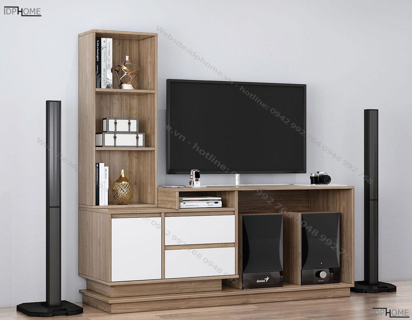 Mẫu kệ tivi nhỏ gọn đa năng tiện dụng KT6802