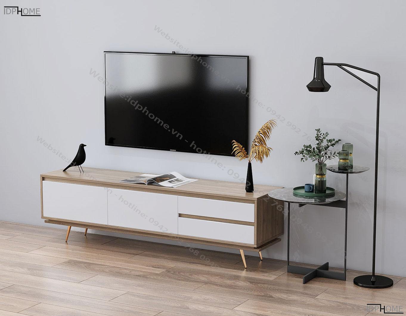 Mẫu kệ tivi phòng khách KT6809
