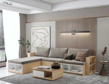 Sofa go cong nghiep phong khach SB6801