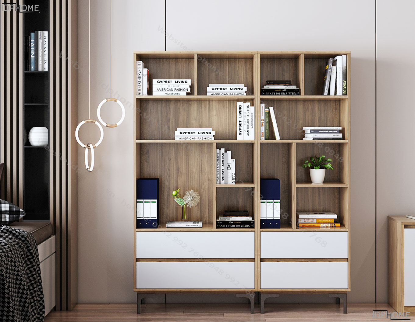 Tủ đựng sách cho bé TS6805