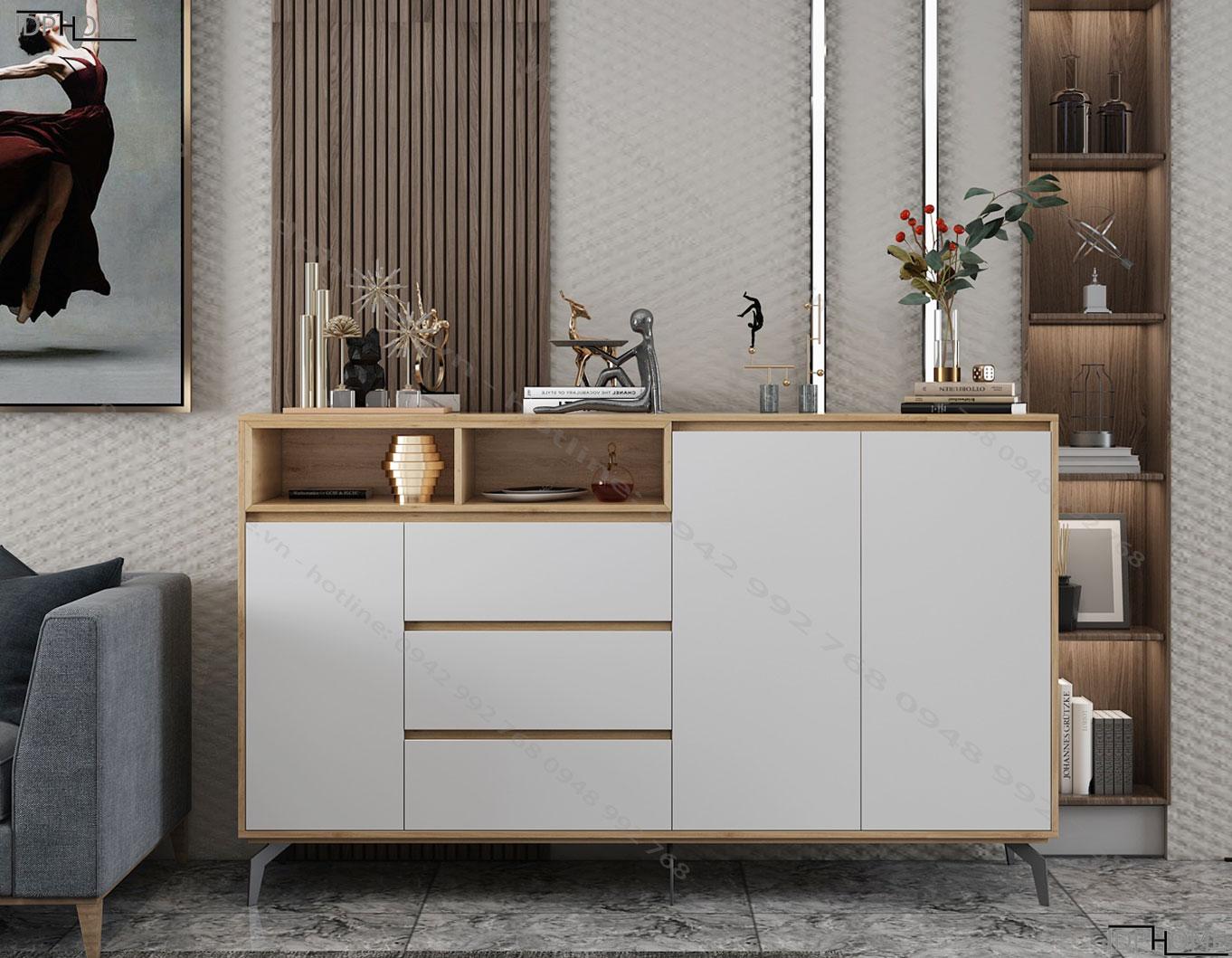 Tủ kho cho nhà bếp đẹp tiện dụng TD6807
