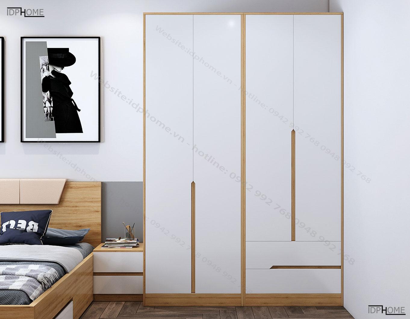 Tủ quần áo cao cấp TA6812